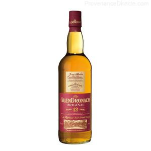 WHISKY BOURBON SCOTCH Whisky Glendronach 12 ans single malt des Highl...