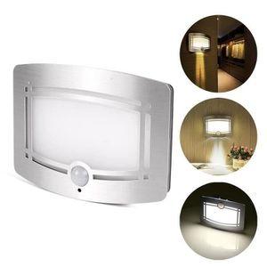 APPLIQUE  lampe activées par des détecteurs de mouvement à p