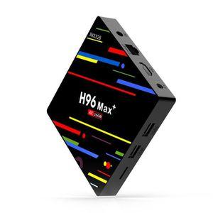 BOX MULTIMEDIA H96 MAX+ TV Boîtier Android 9.0  2 Go + 16 Go RK33