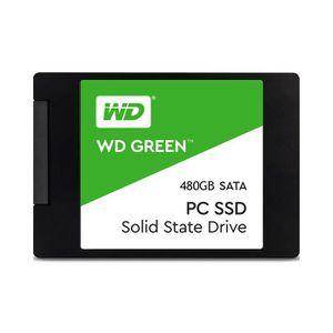 DISQUE DUR SSD Disque SSD WD Green 480Go SSD SATA 6GB - s 2.5in (
