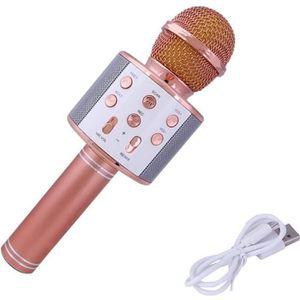 MICROPHONE - ACCESSOIRE Microphone Bluetooth Micro sans Fil à Main de Cond