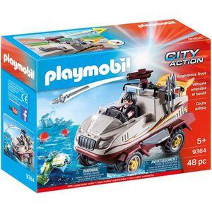 UNIVERS MINIATURE PLAYMOBIL 9364 - City Action - Véhicule amphibie e