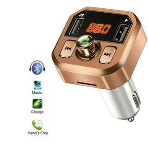 CARTE BLUETOOTH Transmetteur FM Bluetooth Voiture Chargeur Lecteur