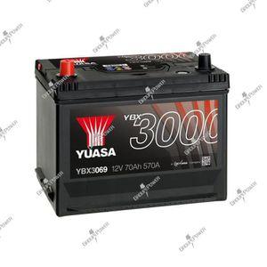 BATTERIE VÉHICULE Batterie auto, voiture YBX3069 12V 70Ah 570A Yuasa