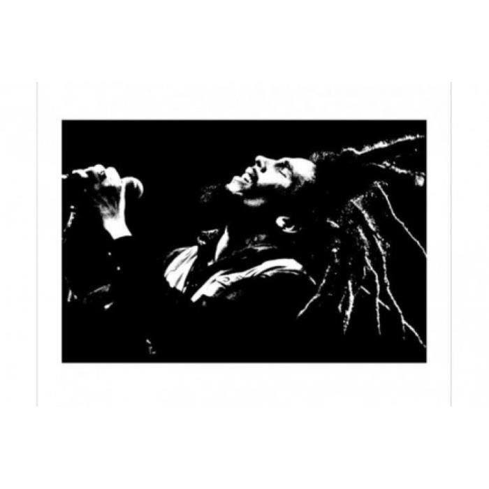poster bob marley achat vente poster bob marley pas. Black Bedroom Furniture Sets. Home Design Ideas