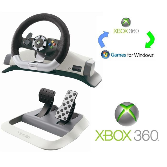 wireless racing wheel xbox 360 achat vente volant jeux vid o wireless racing wheel xbox 360. Black Bedroom Furniture Sets. Home Design Ideas