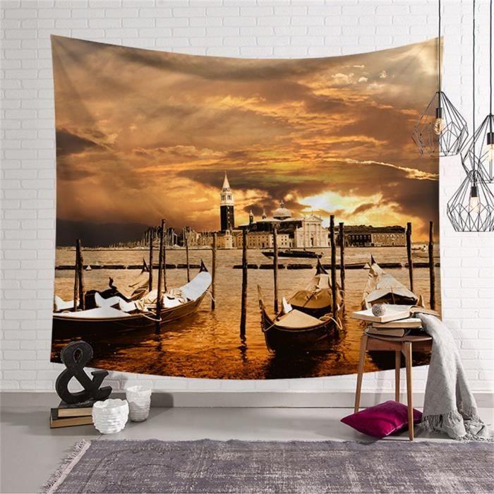 Imprimer tapisserie tenture murale tapisserie Art chambre décor à la maison pour chambre dortoir décor -HANCHUN 331