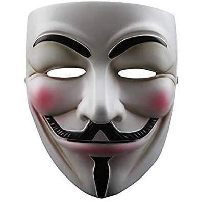 Masque Halloween V pour Vendetta, taille unique