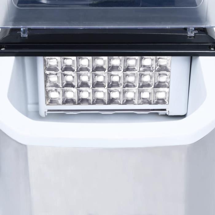 Haute qualité Machine à glaçons Acier inoxydable 20 kg-24 h *218283