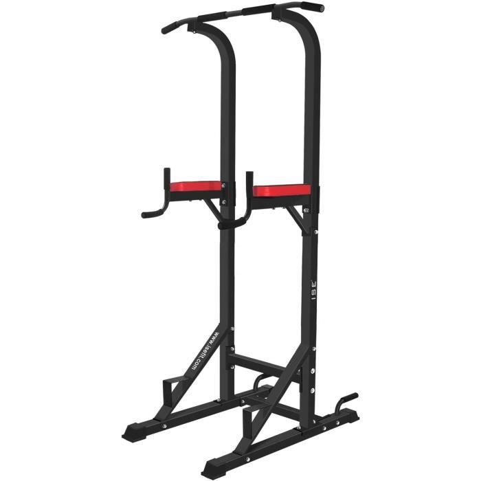 DIP STATION in1 Chaise Romaine Power Tower Workout Dip Station Barre de Traction Station Musculation pour lentraicircnement agra14