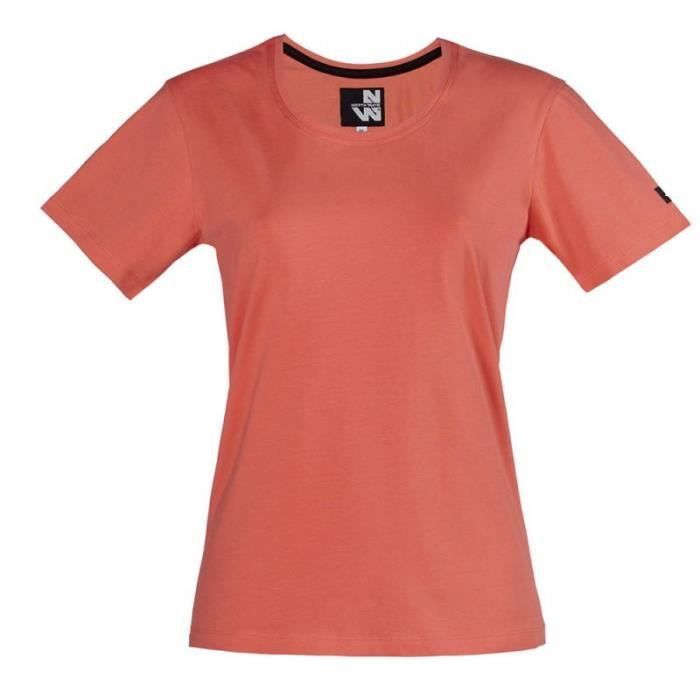 Tee shirt de travail femme ROMANE - NORTH WAYS