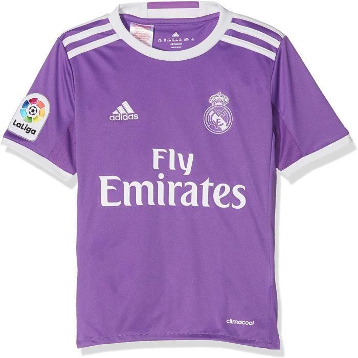 Maillot Enfant Extérieur Real Madrid 2016-2017 Adidas