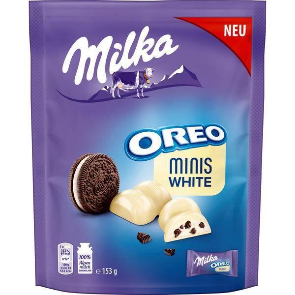 Milka Oreo Minis White 153g (Pack de 5)