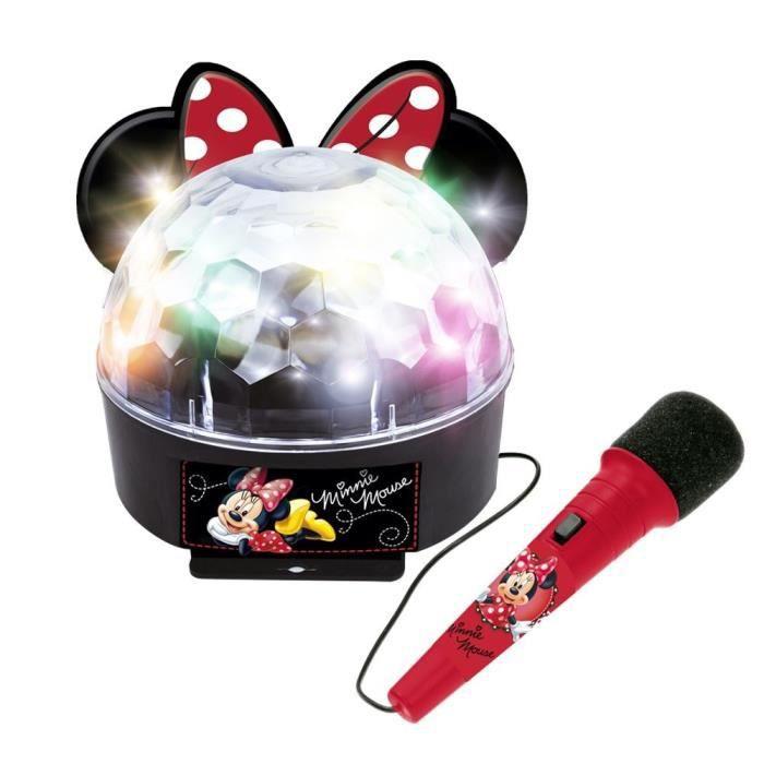 MINNIE Boule de lumières amplificateur disco - Bluetooth Microphone - 5264