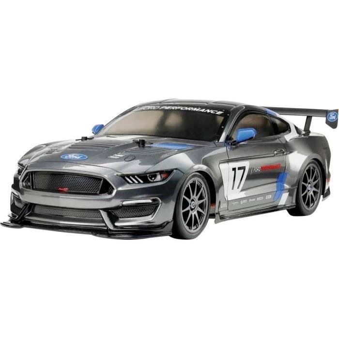 Tamiya TT-02 Ford Mustang GT4 brushed 1:10 Auto RC électrique Voiture de tourisme 4 roues motrices (4WD) kit à monter