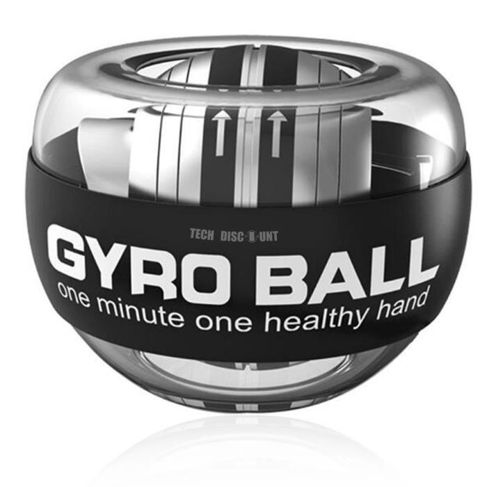 TD® Gyroscope Power Balle LED puissance poignets balle bras exercice Force entraînement Energyball maison Gym sport Fitness équipeme