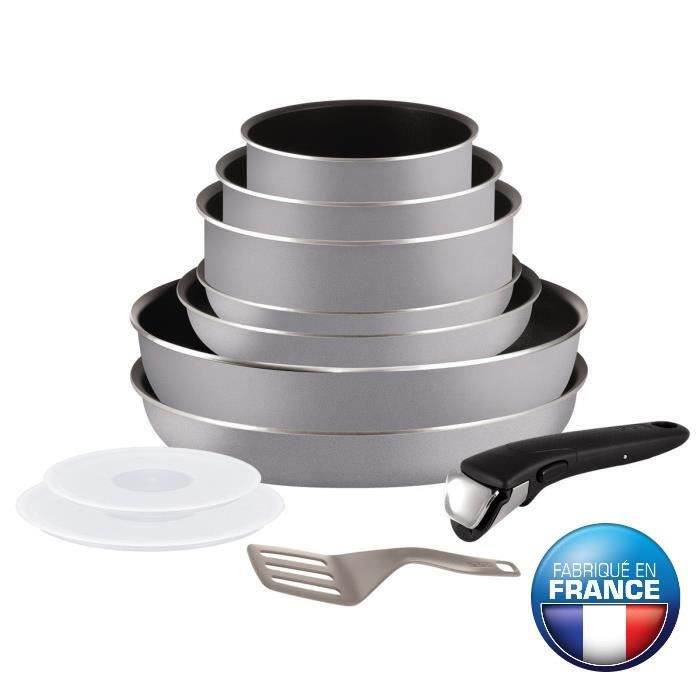 Batterie de cuisine tefal - Batterie cuisine ceramique induction ...