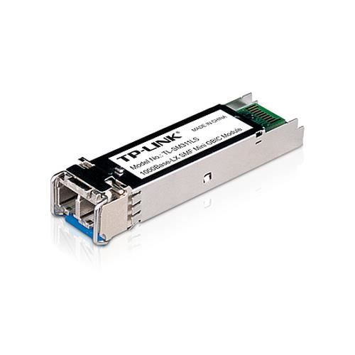 TP-LINK 1000base-BX Single-mode SFP Module , 1280 Mbit-s, Avec fil, 10000 m, 1310 nm, 0 - 70 °C, -40 - 80 °C