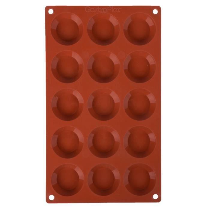 Moule à 15 tartelettes Gastroflex en silicone