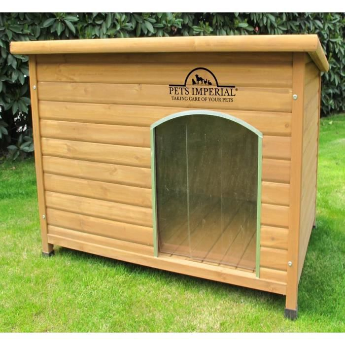 kennels imperial norfolk niche pour chien en bois isol e confort plancher amovible pour un. Black Bedroom Furniture Sets. Home Design Ideas