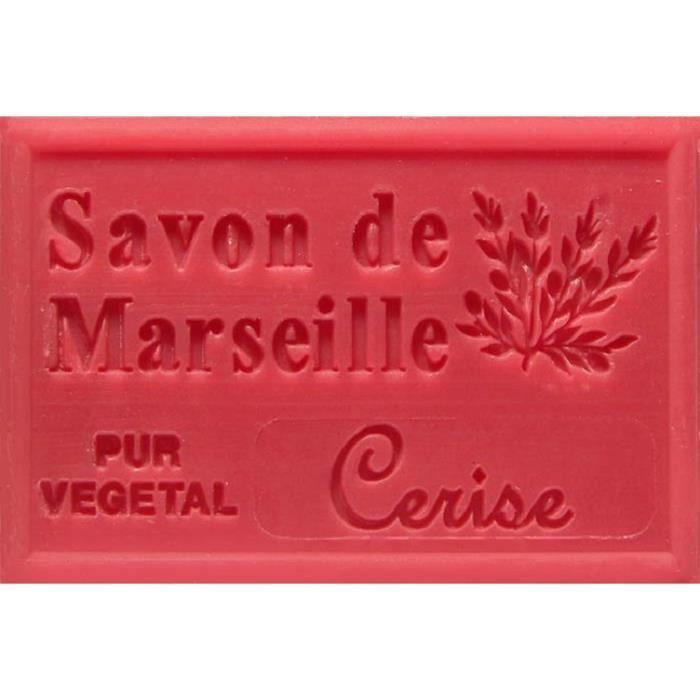 SAVON - SYNDETS savon de marseille a la cerise
