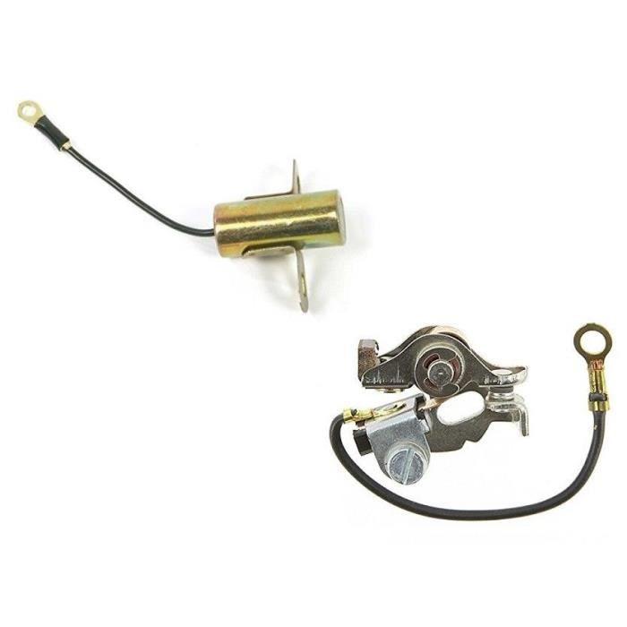 Rupteur et Condensateur  pour Bernard Moteur N°43565 N° 390 320