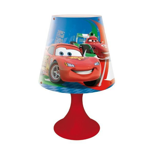 lampe de chevet disney cars 17 x 30 cm achat vente lampe de chevet disney cars cdiscount. Black Bedroom Furniture Sets. Home Design Ideas