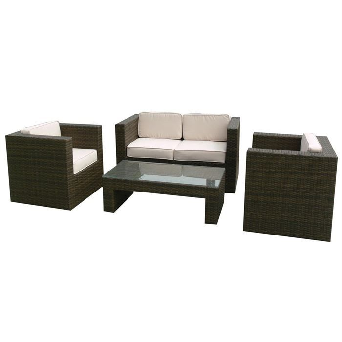 salon de jardin en osier polypropylene tresse achat vente salon de jardin salon de jardin en. Black Bedroom Furniture Sets. Home Design Ideas