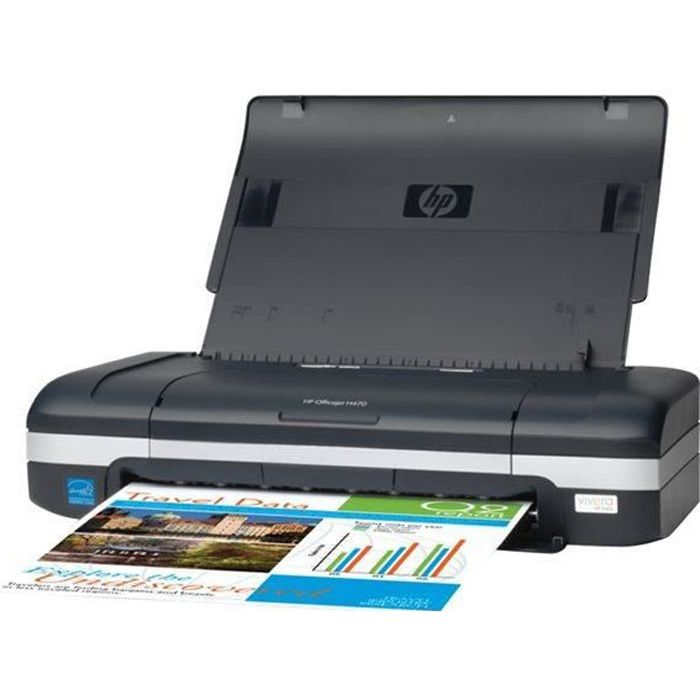 hp imprimante officejet h470 portable prix pas cher. Black Bedroom Furniture Sets. Home Design Ideas