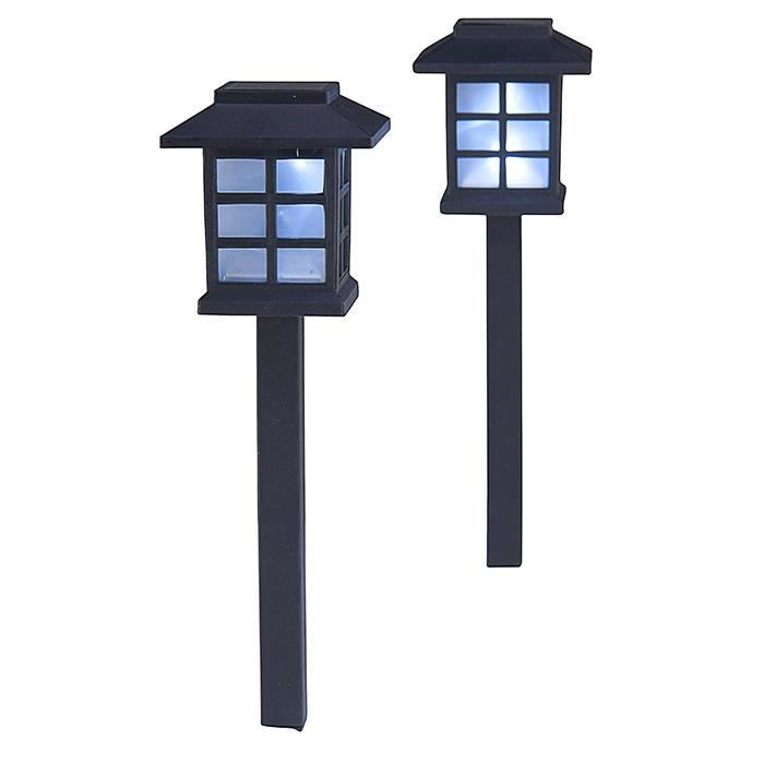 lampe de jardin a led style japonais achat vente lampe de jardin a led style cdiscount. Black Bedroom Furniture Sets. Home Design Ideas