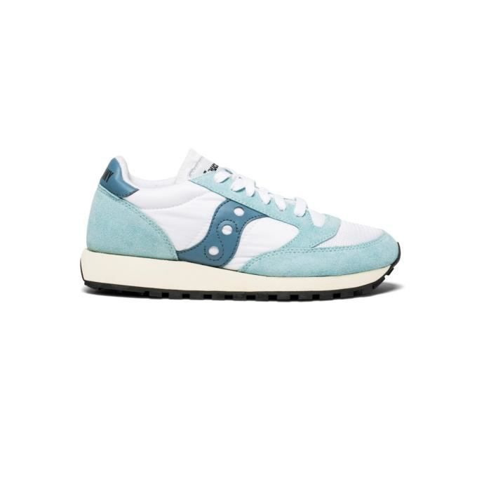 first rate 3ea27 28afd BASKET Baskets Saucony Jazz Original Vintage Blanc Blu