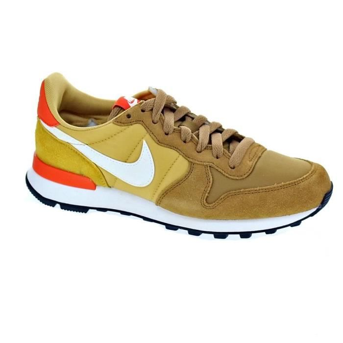 basket nike femme internationalist kaki