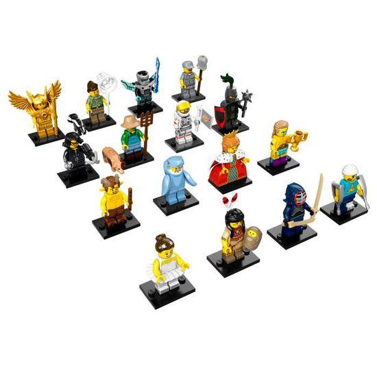 Lego Lot de 10 20 ou 25 Minifigures Accessoires Personnages Exclusifs NEUF