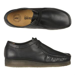 Wallabee Homme homme Noir  Achat / Vente CLARKS ORIGINALS Wallabee