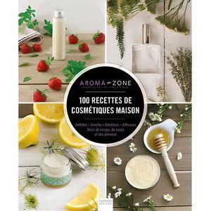 LIVRE BEAUTÉ 100 recettes de cosmétiques maison