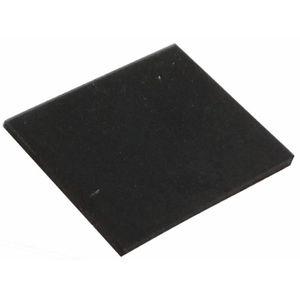 10x pieds patins en caoutchouc H 4mm 6.5x2.8mm pour meubles Auto-adhésifs