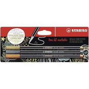 FEUTRES Feutre métallisé – STABILO Pen 68 metallic - Pack