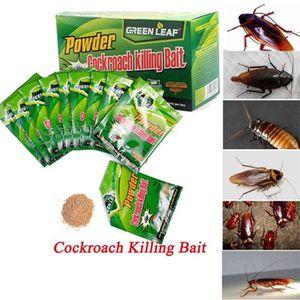 PRODUIT INSECTICIDE Efficace poudre Cockroach 50pcs appât Tuer coquere