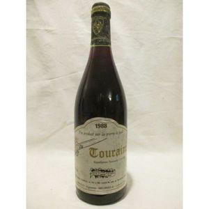 VIN ROUGE touraine gibault gamay rouge 1988 - loire - tourai