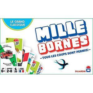 JEU SOCIÉTÉ - PLATEAU Dujardin Jeux - Mille Bornes - Le Grand Classique