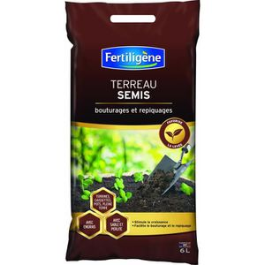 TERREAU - SABLE Terreau semis 6 L