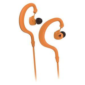 CASQUE - ÉCOUTEURS GENIUS Oreillettes pour Sportifs Hs-M270 Orange av
