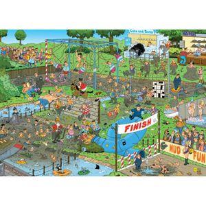 PUZZLE Puzzle 1000 pièces - Jan Van Haasteren :  Course d