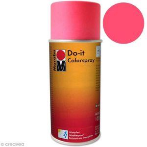 BOMBE DE PEINTURE Peinture en bombe DO IT 150 ml Couleur fluo rose n