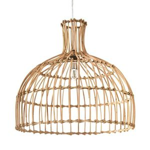 LUSTRE ET SUSPENSION Suspension Chicas en rotin naturel