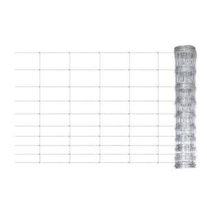 CLÔTURE - GRILLAGE Clôture de jardin 50 m x 120 cm Grillage galvanisé