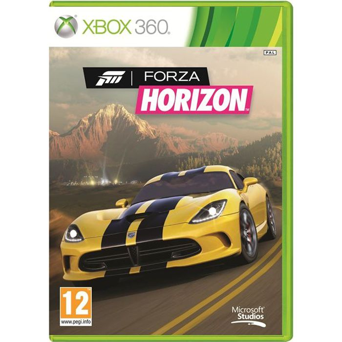 forza horizon jeu xbox 360 achat vente jeu xbox 360 forza horizon jeu xbox 360 cdiscount. Black Bedroom Furniture Sets. Home Design Ideas