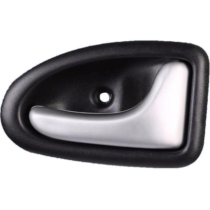 Poignee de porte droit Argent chrome Renault Clio II Scenic Megane I Trafic