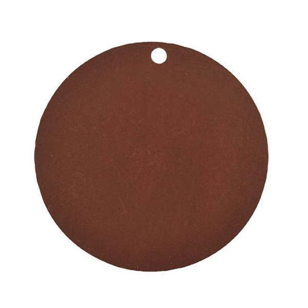10 MARQUES PLACES RONDS CHOCOLAT Marron, chocolat