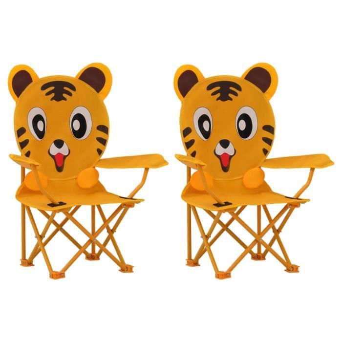 ��6528Ergonomique - Lot de 2 Chaises de jardin pour enfants Contemporain Fauteuils de Jardin - Chaises d'Extérieur Terrasse jardin